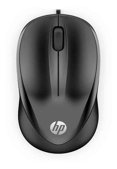 Mouse Hp 1000 Usb Preto 1200 Dpi | Com Fio