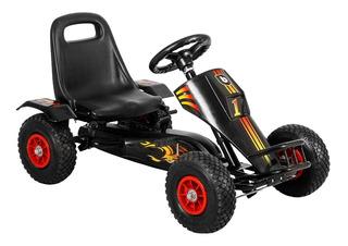 Go Kart Fierro Negro Bebeglo