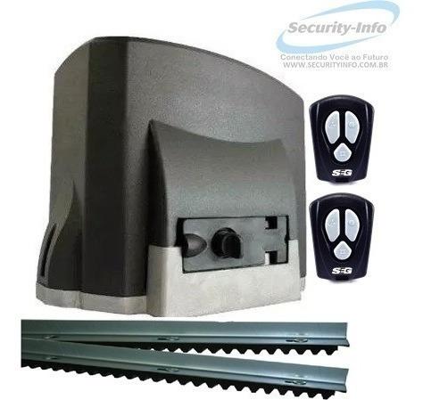 Kit Motor Portão Automático Deslizante Seg 1/4 Hp Fit