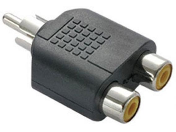 Plug Adaptador Rca X 2 Jack Rca Femea C/10 Unidades