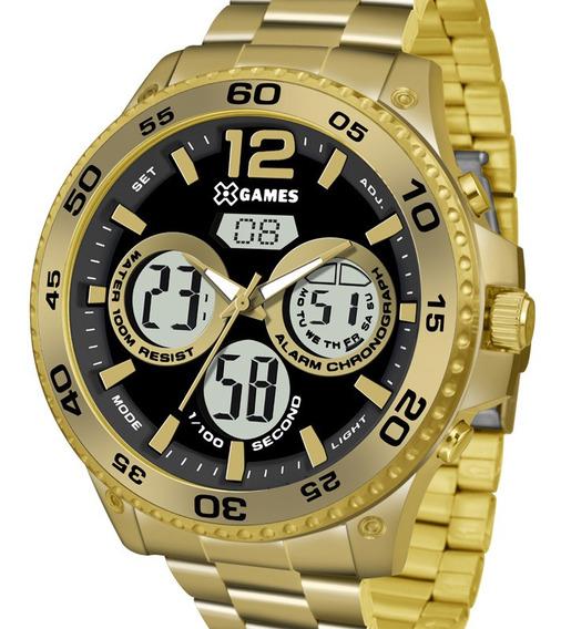 Relógio X-games Masculino Xmgsa005 P2kx C/ Garantia E Nf