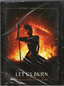 Dvd Within Temptation Let Us Burn Novo Lacrado Original