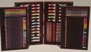Caja De Madera Portatil Para Pintura Profesional