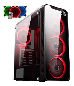 Pc Gamer Easypc Intel I5, 8gb Hd 1tb, 500w, Gtx 1050 Ti 4gb