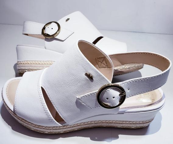 Sandália Dakota Flatform Camurça Suede Anabela Z5217 Oferta