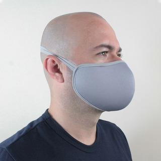 Mascara Protege Respiração Lavável Tecido Duplo Reutilizável