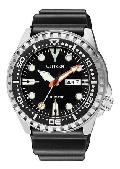 Relogio Citizen Masculino Marine Sport Automatico Nh8380-15e