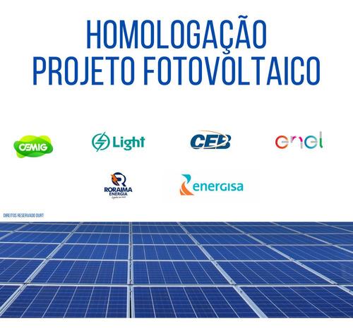 Imagem 1 de 1 de Homologação De Projetos Fotovoltaicos