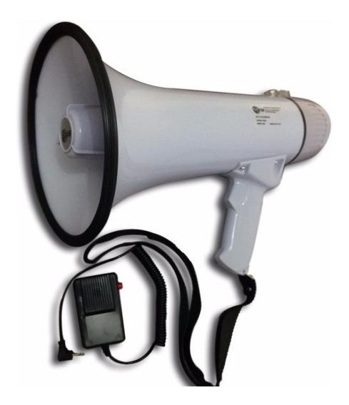 Megafone C/ Microfone De Mão E Sirene -frete Grátis