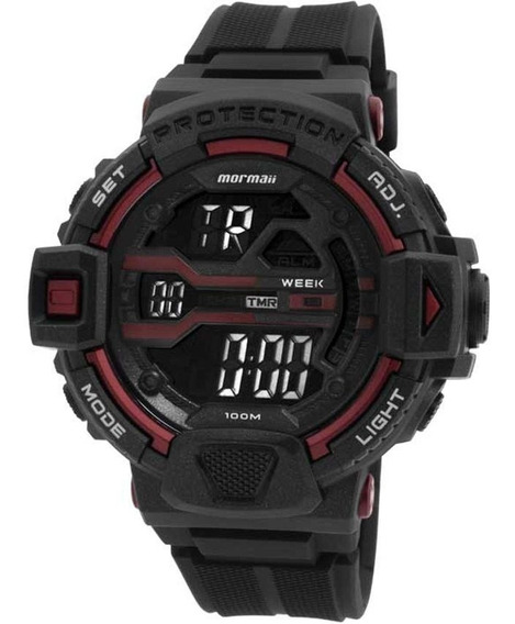 Relógio Masculino Mormaii Acqua Pro Mom1102aa/8r - Original