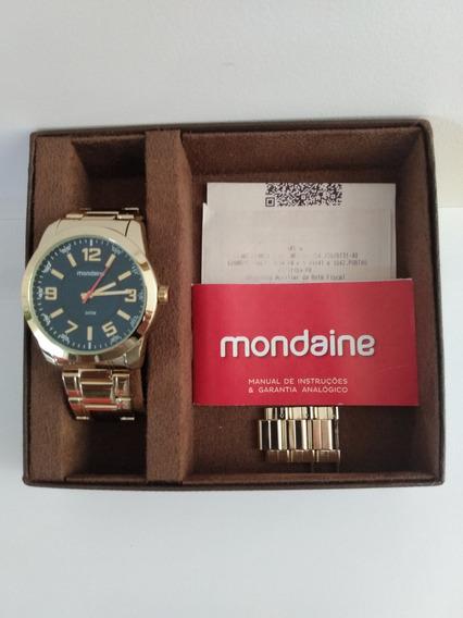 Relógio Masculino Mondaine Original Analógico 3atm