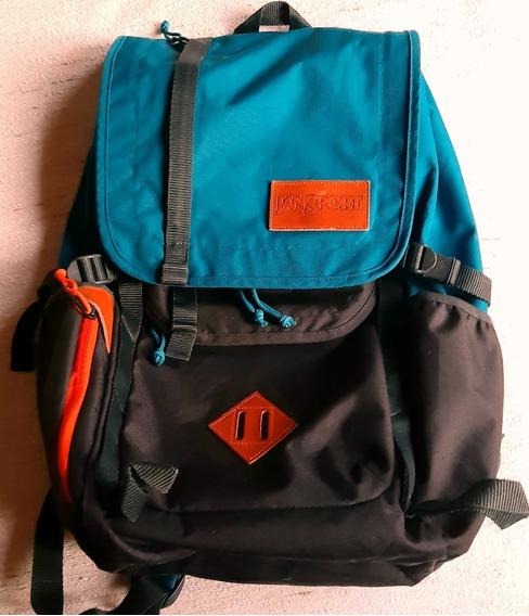 Mochila Jansport Hatchet Backpack Azul Corsario