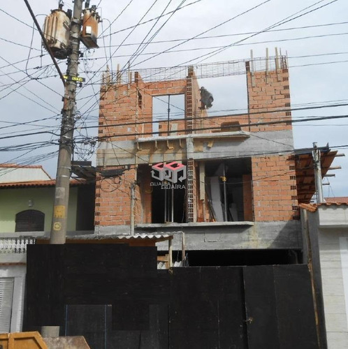Cobertura À Venda, 2 Quartos, 1 Suíte, 2 Vagas, Lucinda - Santo André/sp - 79389