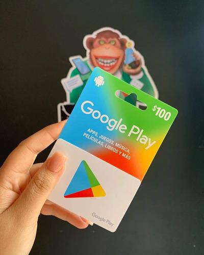 Imagen 1 de 1 de Tarjeta Google Play