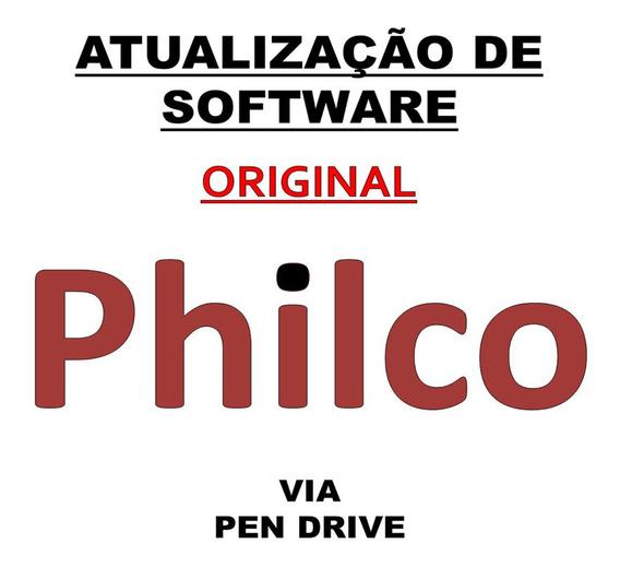 Atualização Software Firmware Tv Philco (escolha Seu Modelo)