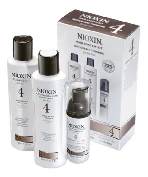 Nioxin Trial Kit System 4 (3 Produtos) + Frete Gratis!!!