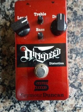 Pedal Seymour Duncan Dirty Deed Distortion