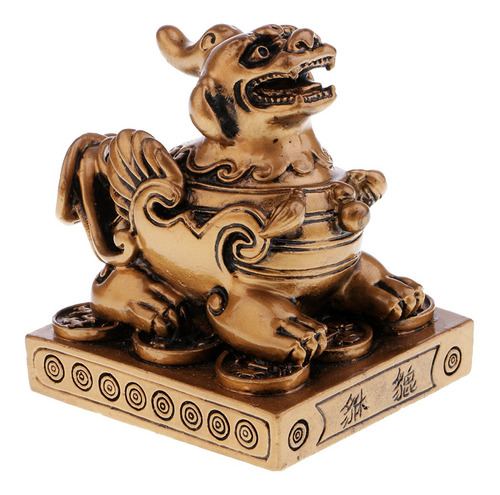 Estatuilla De Pi Xiu Feng Shui Bronce