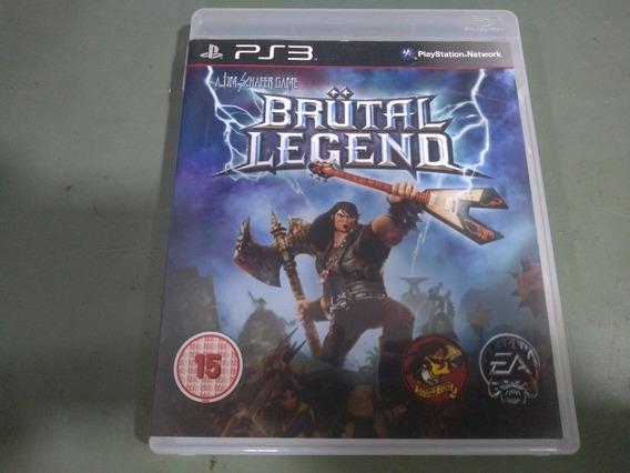 Jogo Seminovo Brutal Legend Ps3 Pronta Entrega Aproveite!!