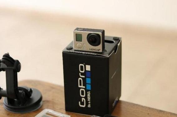 Go Pro 3 Black + (acessórios + Pau Selfie + Controle)
