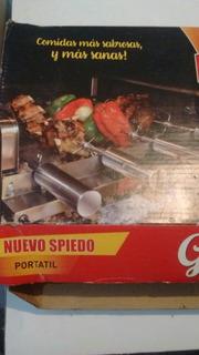 Spiedo Portátil Parrilla Saber Grill Nuevo