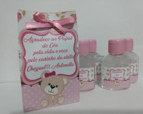 15 Álcool Gel /lembrancinhas Personalizada/flor/rosa/ursinha