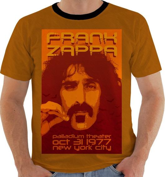 Camiseta Gw Frank Zappa Cantor Guitarrista Produtor Color