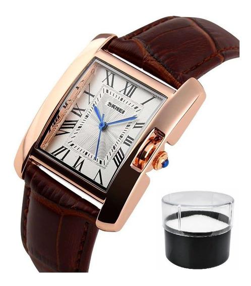Relógio De Pulso Original Skmei Feminino Mod. 1085 Presente