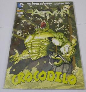 Gibi Batman 23.4 Numero 84 Crocodilo - Hq