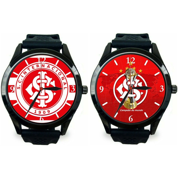 Kit 2 Relógio Pulso Esportivo Internacional Masculino Oferta