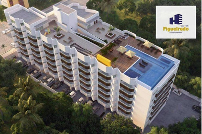Apartamento Com 1 Dormitório À Venda, 37 M² Por R$ 235.000 - Bessa - João Pessoa/pb - Ap5157