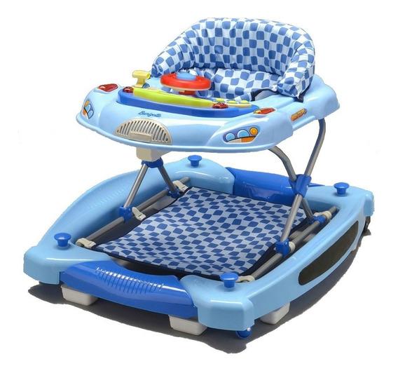 Andador E Centro De Atividades Baby Coupé Azul - Burigotto