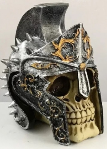 Cranio Caveira Cofre Enfeite Decorativo Envio Imediato