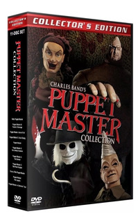 Puppet Master Combo Coleccion Completa De 11 Dvd