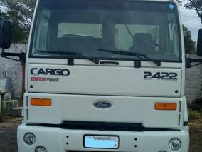 Caminhão Ford Cargo 2422 Ano 2005 Caçamba Facchin 2o Dono