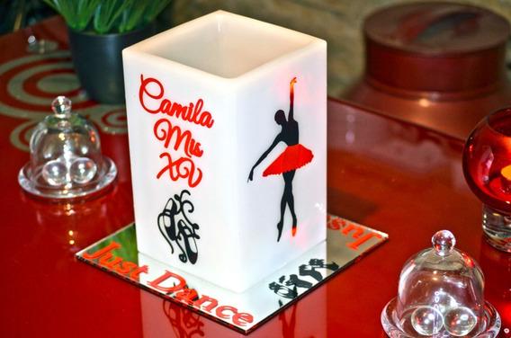 Centro De Mesa Xv Años Ballet Rojo