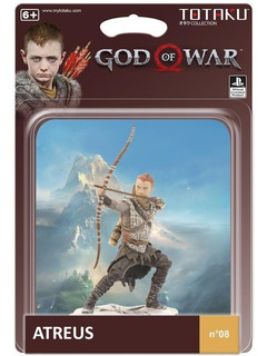 Figura Totaku Atreus God Of War 4 Unico 10cm Orangegame