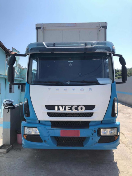 Iveco Tector 240e28 6x2 2016 Com Sider Mb/volvo/vw/ford