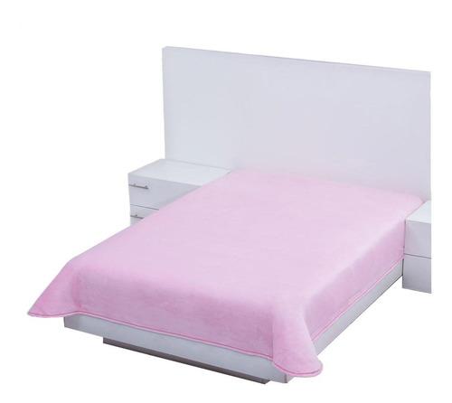 Imagen 1 de 1 de Cobertor Colchas Concord Cobertor ultrasuave Matrimonial liso/Rosa
