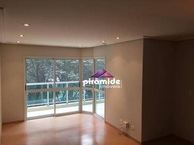 Apartamento Com 3 Dormitórios Para Alugar, 123 M² Por R$ 1.900/mês - Vila Betânia - São José Dos Campos/sp - Ap10650