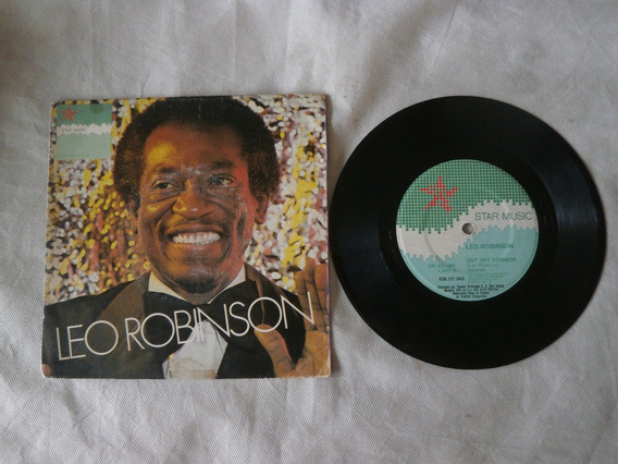 Lp Compacto Leo Robinson 1981 Out Off Common, To My Hearth