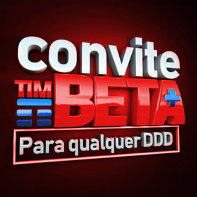 Tim Convite Ou Migração Beta Até 35gb + 2000minutos