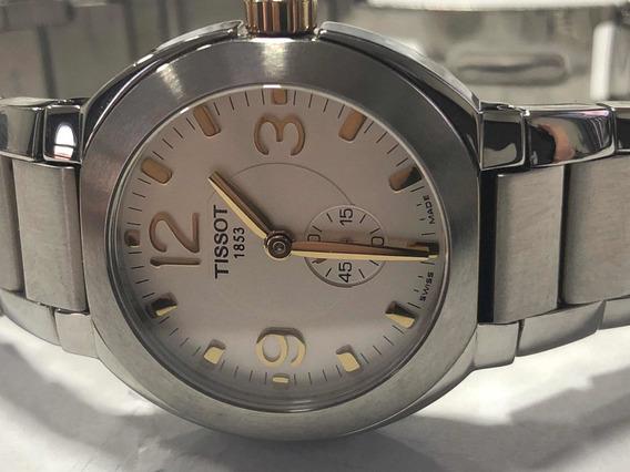 Relógio Tissot Feminino Bicolor