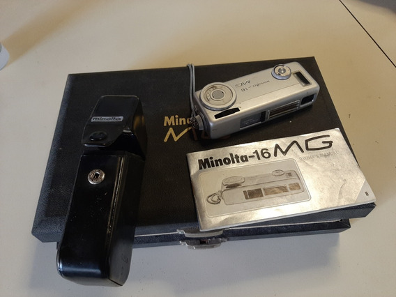 Camera Fotográfica Minalta -16 Para Colecionador -