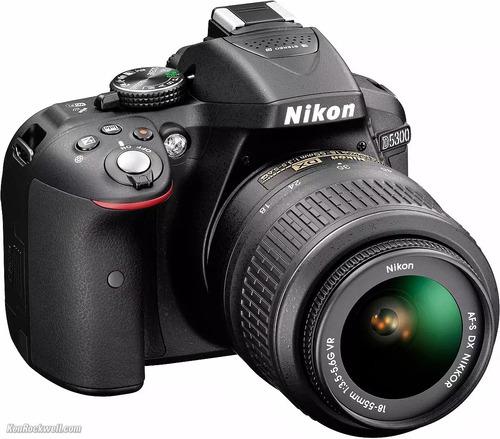 Camera Nikon D5300 + Lente 18-55mm + Acessórios Seminova