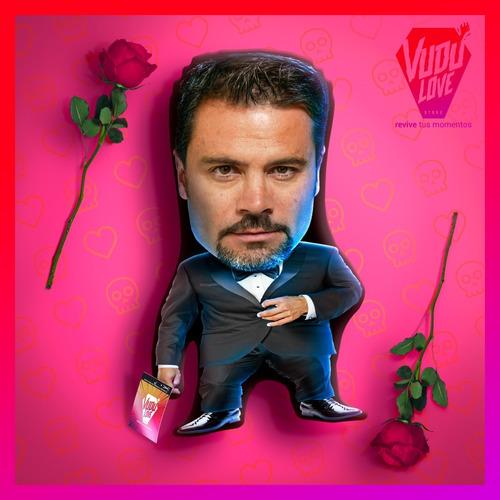 Imagen 1 de 2 de Cojín Felipe Camiroaga Chiquito 40cm Vudú Love