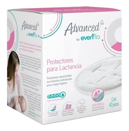 Protectores Para Lactancia Evenflo Absorgel 40 Pzas