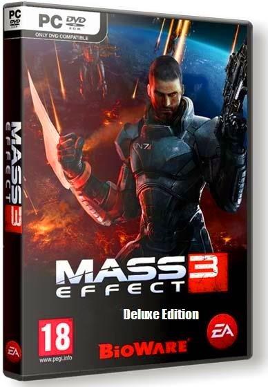 Mass Effect 3 Deluxe Edition - Pc Dvd - Frete 8 Reais