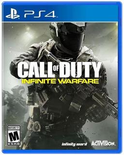 Call Of Duty Infinite Warfare Ps4 Fisico Sellado En Español