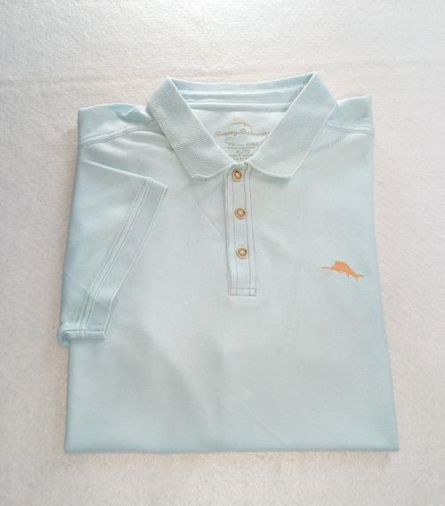 Polo Tommy Bahama Azul Claro
